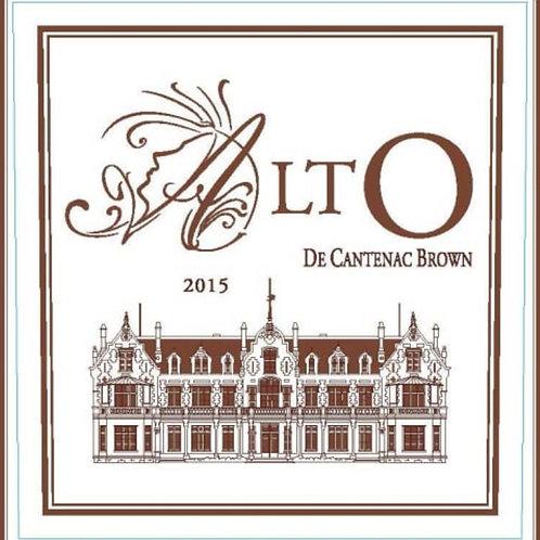 Bordeaux Blend 2015 Bordeaux, Alto de Cantenac Brown