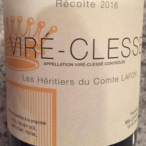 Chardonnay 2016 Vire-Clesse, Les Heritiers du Comte Lafon