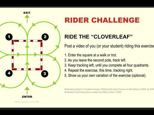 """RIDER CHALLENGE: Ride the """"Cloverleaf"""""""