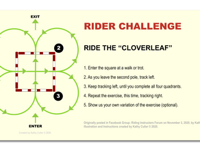 "RIDER CHALLENGE: Ride the ""Cloverleaf"""