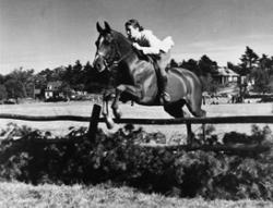 Sally on Douchka - 1930s