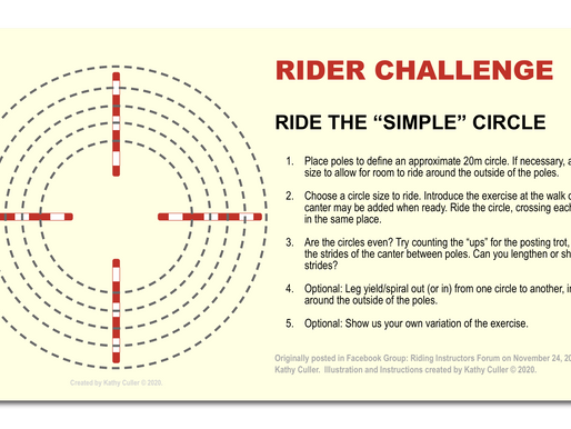 """RIDER CHALLENGE: Ride the """"Simple Circle"""""""