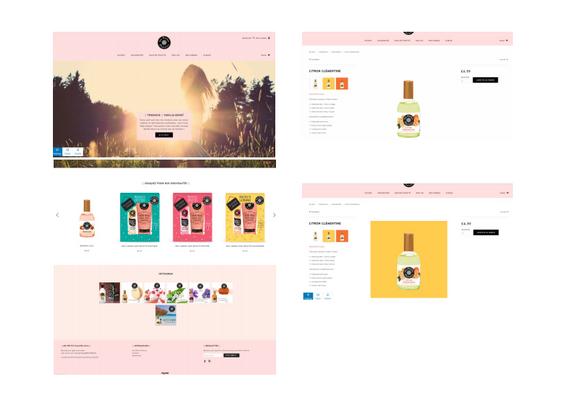Les petits Plaisirs | digitalisation de marque