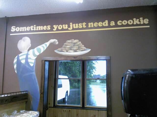 Carsens country Deli, Cookie time.
