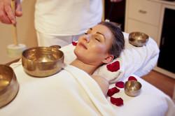 Massage aux bols tibétains