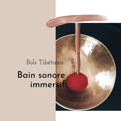 Bain sonore : bol tibétain