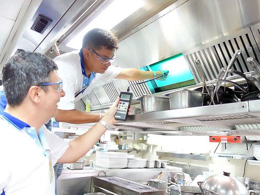 Clean Air Thailand HoodClean UV Kitchen Hood System Mandarin Oriental Bangkok