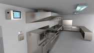 Automated Kitchen Disinfection