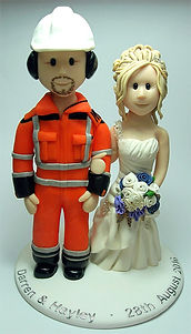 Workman Wedding Cake Topper