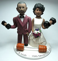 BAME Handmade Wedding Cake Topper