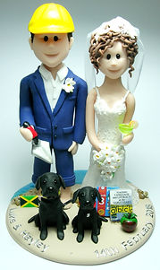 Builer Wedding Cake Topper