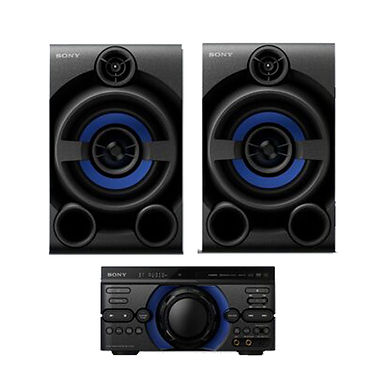 HIGH POWER  AUDIO SYSTEM WITH DVD & BLUETOOTH