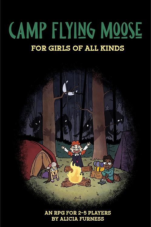 Camp Flying Moose for Girls of All Kinds- Digital