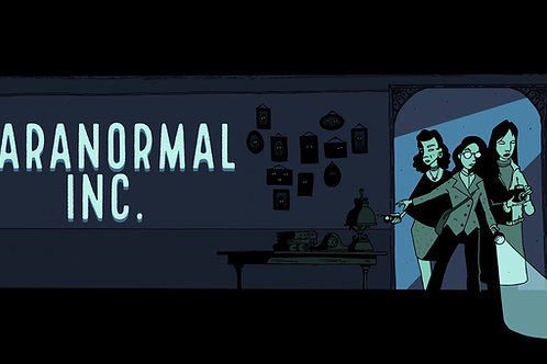 *PRE-ORDER* - Paranormal Inc. (Physical Copy)