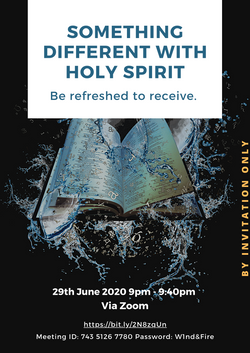 something different with holy spirit