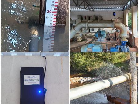 A telemetria na gestão da captação de água em bacias hidrográficas