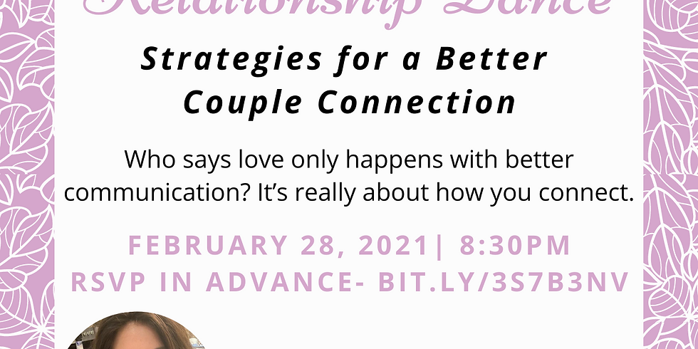 Exploring the Relationship Dance