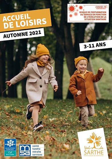 ALSH Val de Sarthe Automne 2021