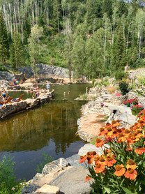 Hot Springs At Steamboat Springs