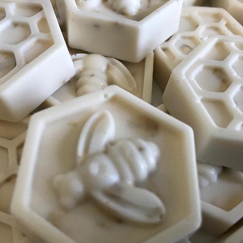 Oatmeal Wildflower Honey Bee Soap