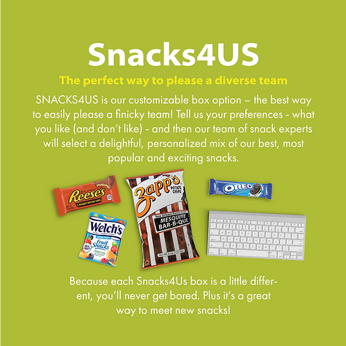 Snacks4US- Small Size
