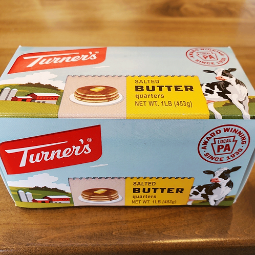 Turner's Dairy Butter (1 lb)