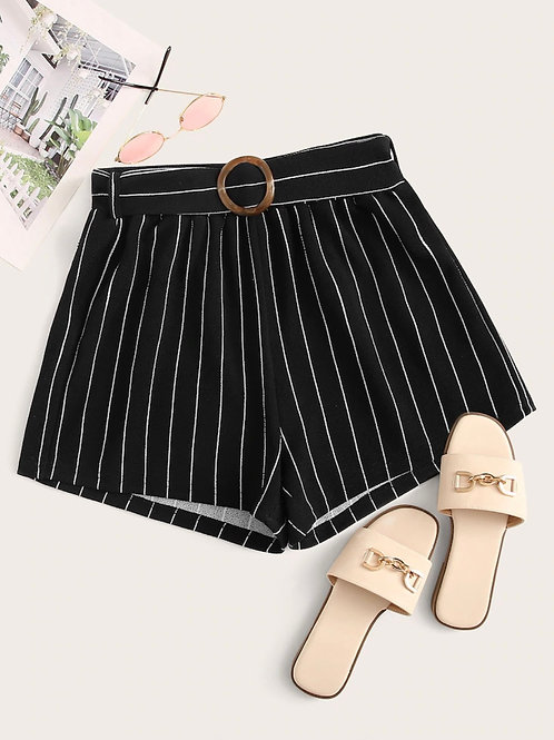 Umea Striped Shorts
