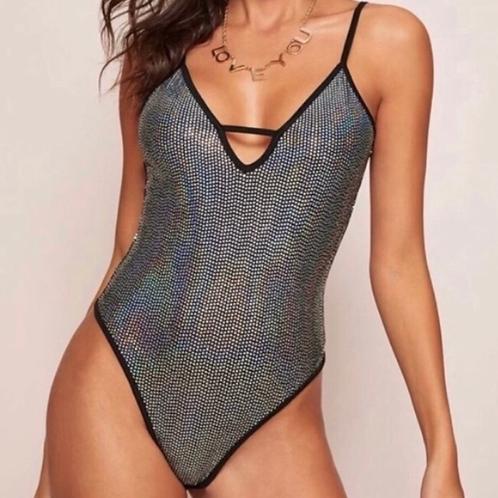 Glam sequined bodysuit