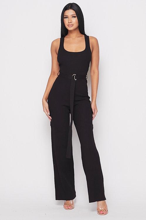 Kerlie Jumpsuit w/Belt