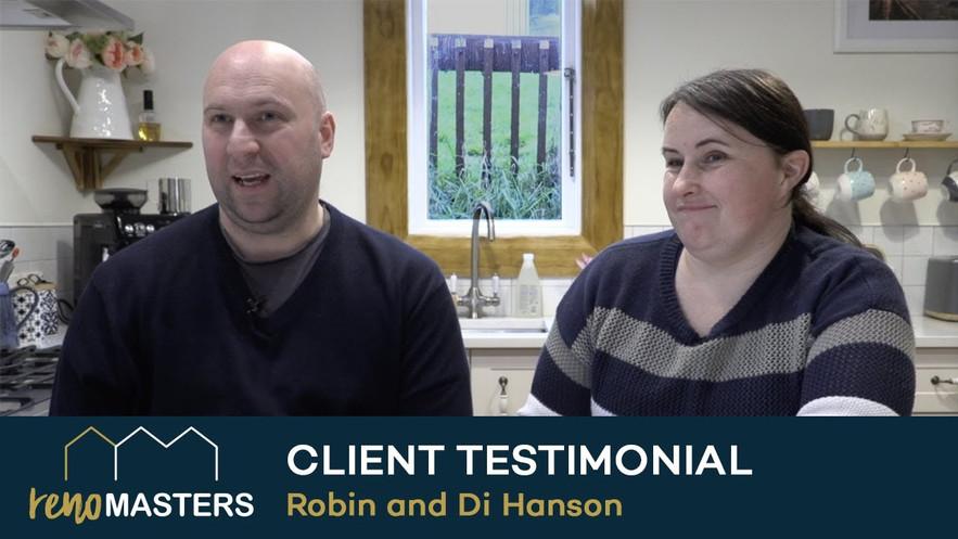 RenoMasters Registered Master Builders Testimonial Robin and Di Hanson