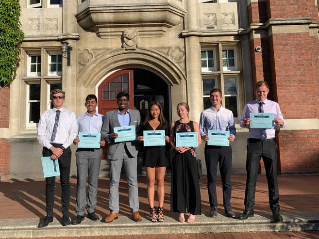 2019 Salmond College Scholarship Recipients