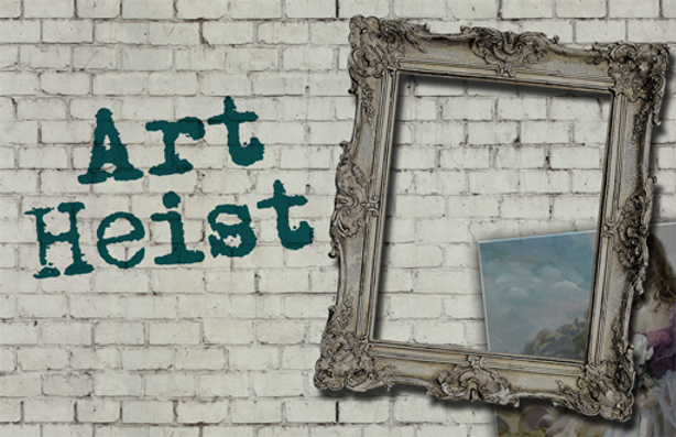 art heist picture frame