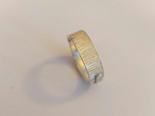 Engraved Spiral Ring