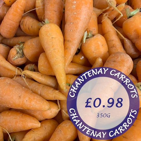 Chantenay Carrots 350g