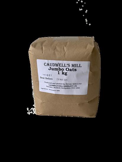 Caudwell's Mill Jumbo Oats 1kg
