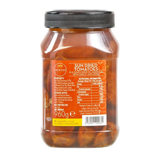 Sun Dried Tomatoes 960G