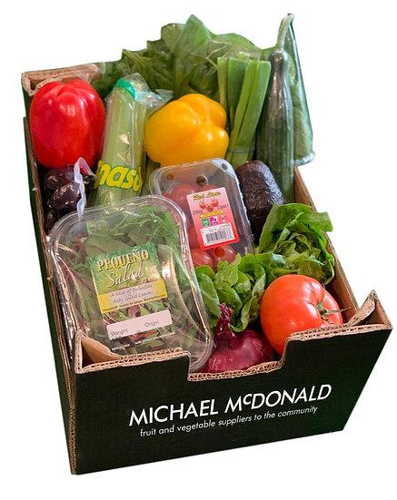 McDonald Salad Selection
