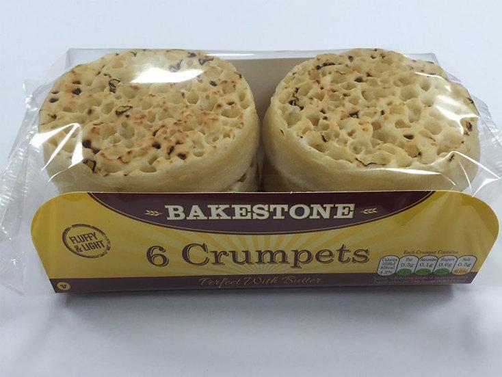 Bakestone Crumpets (1x6)