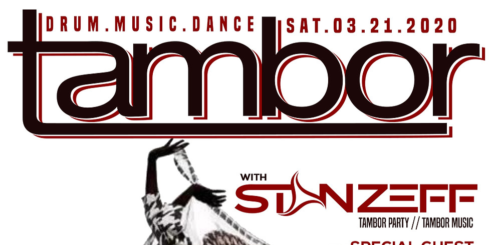 Tambor Party March 21 2020