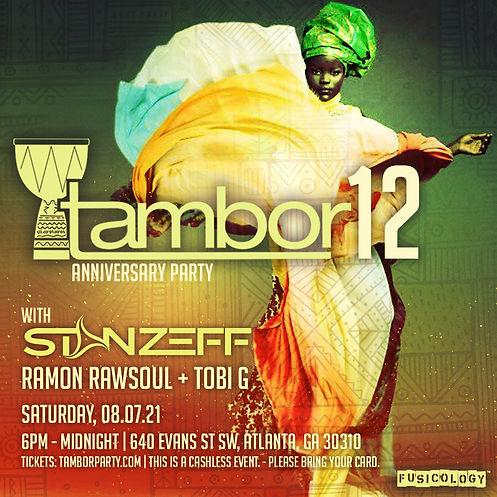 Tambor 12 years with Stan Zeff.jpg