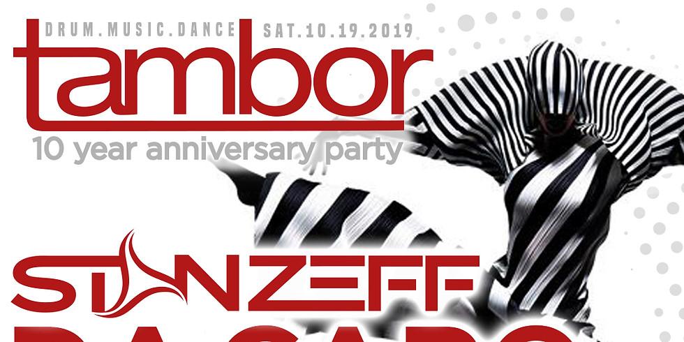 Tambor Party 10th Anniversary Celebration ATL