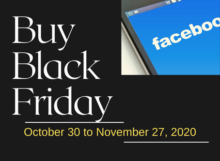 Facebook Launches #BuyBlackFriday to Support Black-Owned Businesses