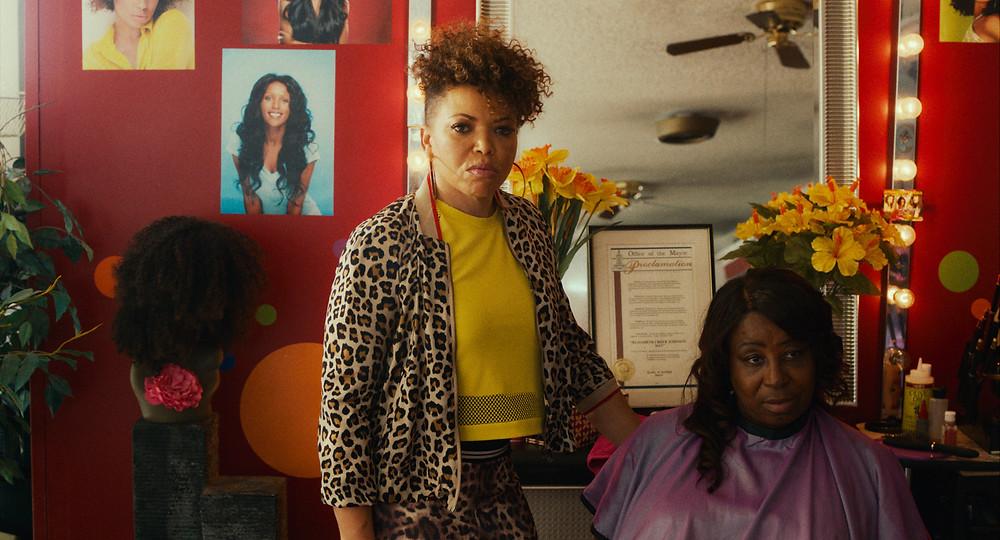 Tisha Campbell-Martin stars as 'Mama Liz' in BLINDSPOTTING.