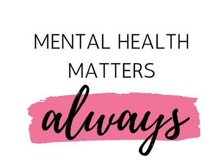 The End Of Mental Health Awareness Month