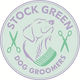 Stock Green Dog Groomers logo_2018 updat