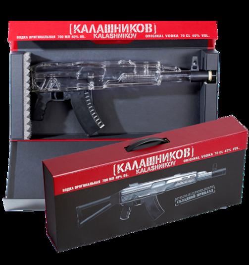 "Vodka ""Kalashnikov"" AK Box"
