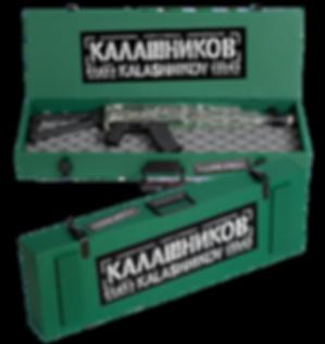 "подаръчни варианти Водка ""Калашников""  AK Base"