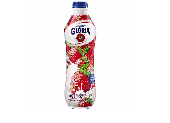 Yogurt Bebible Fresa 1 Lt. Gloria