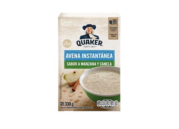 Avena instantánea sabor a manzana y canela 330 gr. - Quaker