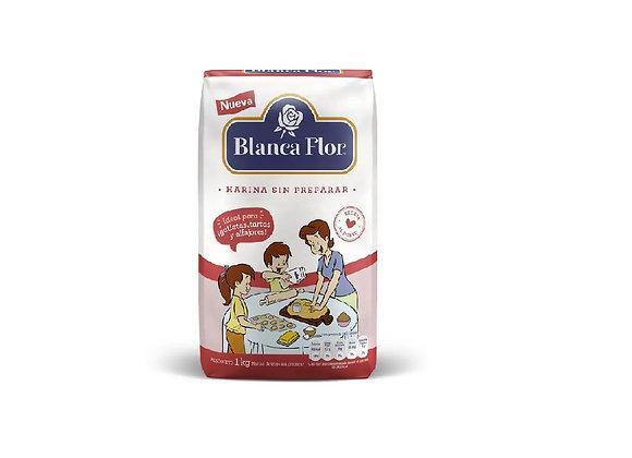 Harina Sin Preparar - 1 Kg. - Blanca Flor